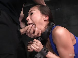 It was a rough threesome BDSM banging that Kalina won't forget