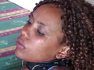 Extreme horny hot chocolade african babe fucked at my wild safari tour