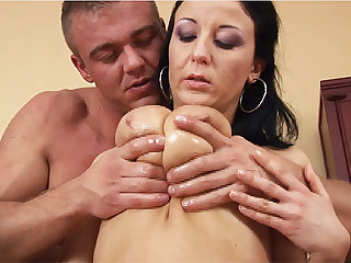 mom with big natural breasts fucked