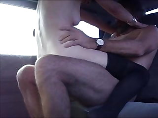 MANY MOANINGS ON BACKSEAT