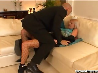Omar Galanti fucks two pretty chicks after they please him with a blowjob